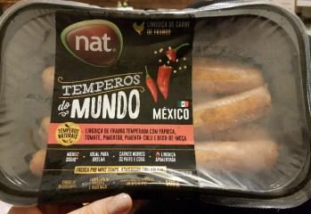 Linguiça de Frango Temperos do Mundo México Nat.