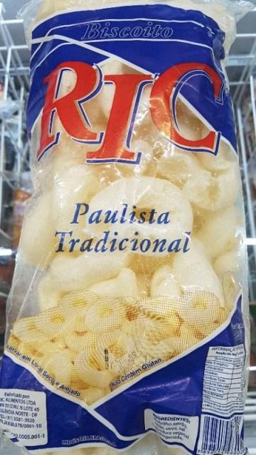 Biscoito Paulista Tradicional RIC