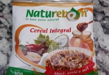 Cereal Integral Maçã, Aveia e Mel Naturebem