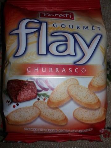 Snacks de Cereais Sabor Churrasco Flay Parati