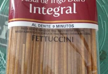 Pasta de Trigo Duro Fettuccini Integral Las Acácias