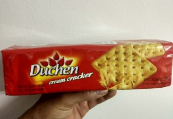 Biscoito Cream Cracker Duchen