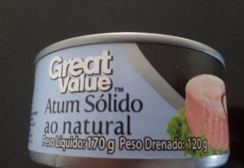 Atum Sólido ao Natural Great Value