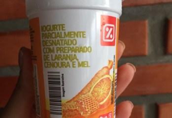 Iogurte Parcialmente Desnatado com Preparado de Laranja, Cenoura e Mel Dia
