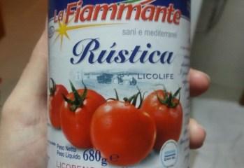 Molho de Tomate Passata Rústica La Fiammante