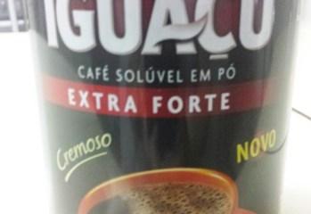 Café Solúvel em Pó Extra Forte Iguaçu