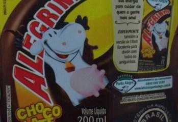 Bebida Láctea UHT Sabor Chocolate Alegrinho Laticínios Porto Alegre