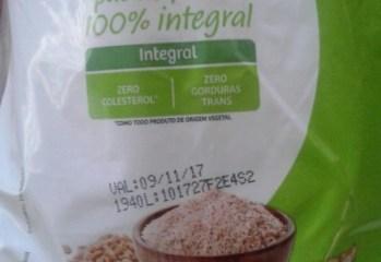 Pão de Forma 100% Integral Taeq