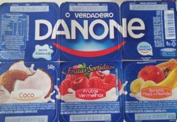 Iogurte Frutas Vermelhas Danone