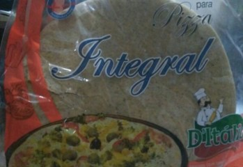 Massa para Pizza Integral D'Itália