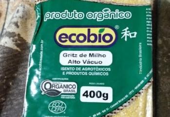 Gritz de Milho Orgânico Ecobio
