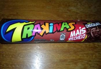 Biscoito Recheado Chocolate Mais Recheio Trakinas Mondelez