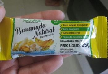 Bananada Natural NaturaFruti