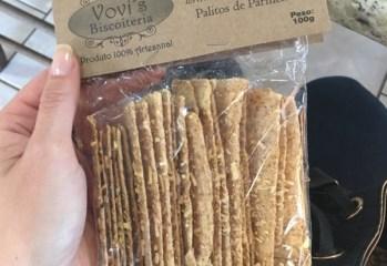 Palitos de Parmesão Vovi's Biscoiteria