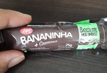 Bananinha Com Chocolate Meio Amargo Erlan