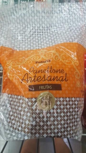Panettone Artesanal Frutas Padaria Angeloni