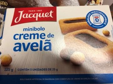 Minibolo Creme de Avelã Jacquet