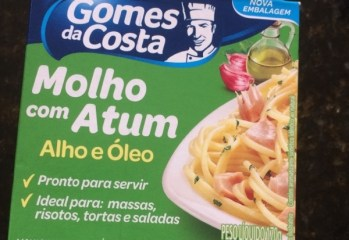 Molho com Atum Sabor Alho e Óleo Gomes da Costa