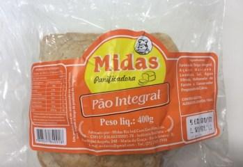 Pão Integral Midas