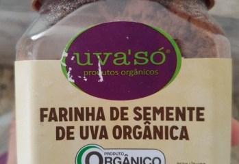 Farinha de Semente de Uva Orgânica Uva'Só