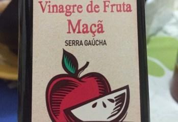 Vinagre de Fruta Maçã Orgânico Rosani