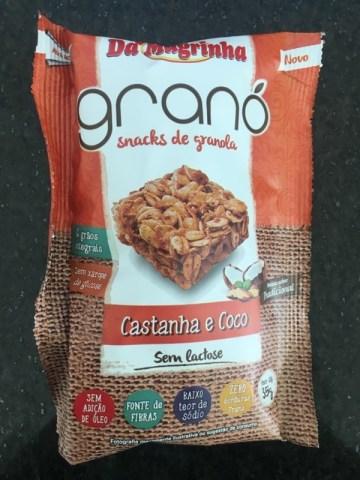 Snacks de Granola Castanha e Coco Granó Da Magrinha