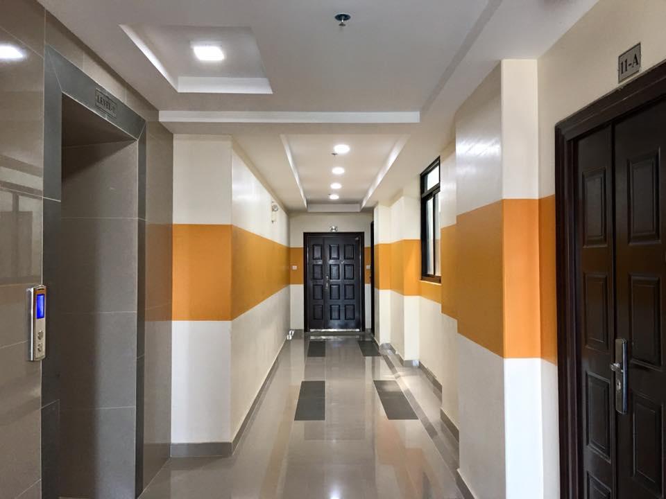 Yangon Condominium elevator
