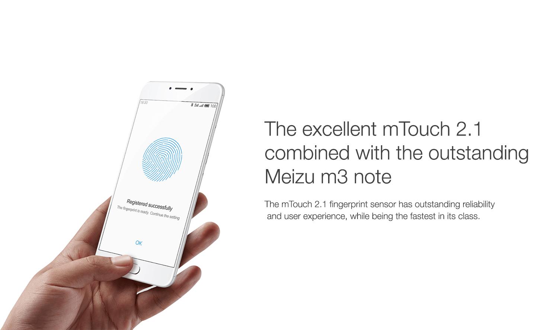 meizu fingerprint sensor