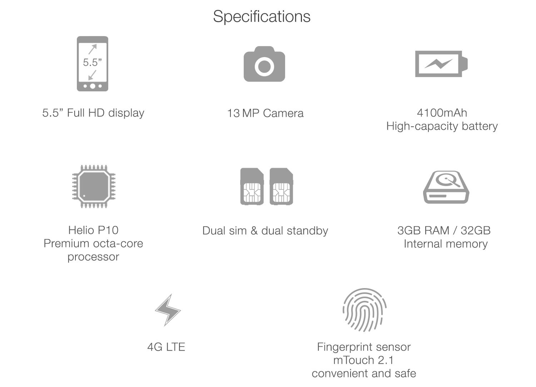 meizu tech specification