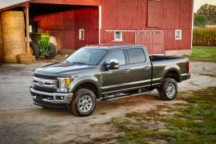 All-new 2017 Ford F-Series Super Duty features an all-new, high-strength steel frame, segment-first, high-strength, military-grade, aluminum-alloy body, and stronger axles, springs and suspension to create the only Built Ford Tough heavy-duty truck lineup that works as hard as Super Duty customers.