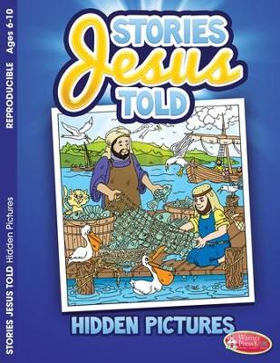 Activity book Stories Jesus Told