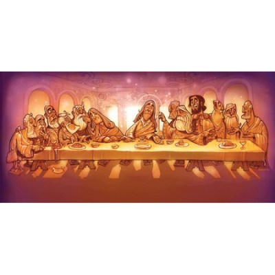 Last Supper Background decoration