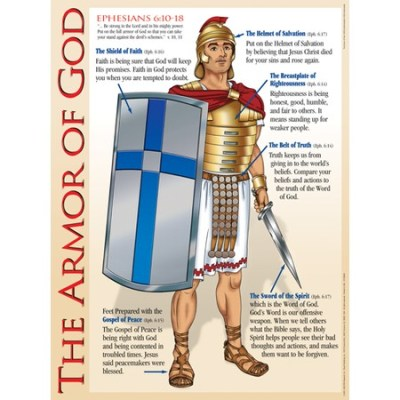 Bible Chart Armor of God for kids