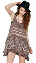 Vestido de hippie jovial curto Aliexpress