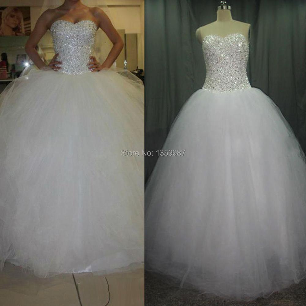 bling princess wedding dresses bling wedding dresses Princess Gown Wedding Dresses With Sweetheart Neckline And Bling
