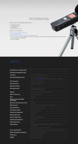Small Of Zoom H1 Manual