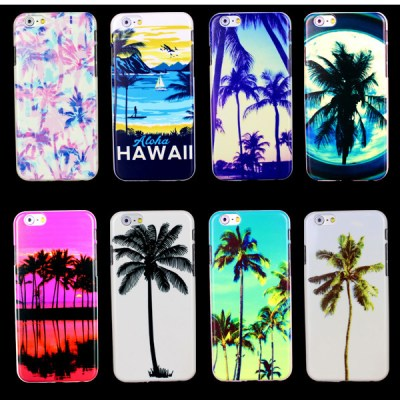 Hawaii Palm tree Beach Sunset Phone Case for iPhone 6 Plus Case for iphone 6 Plus Case-in Phone ...