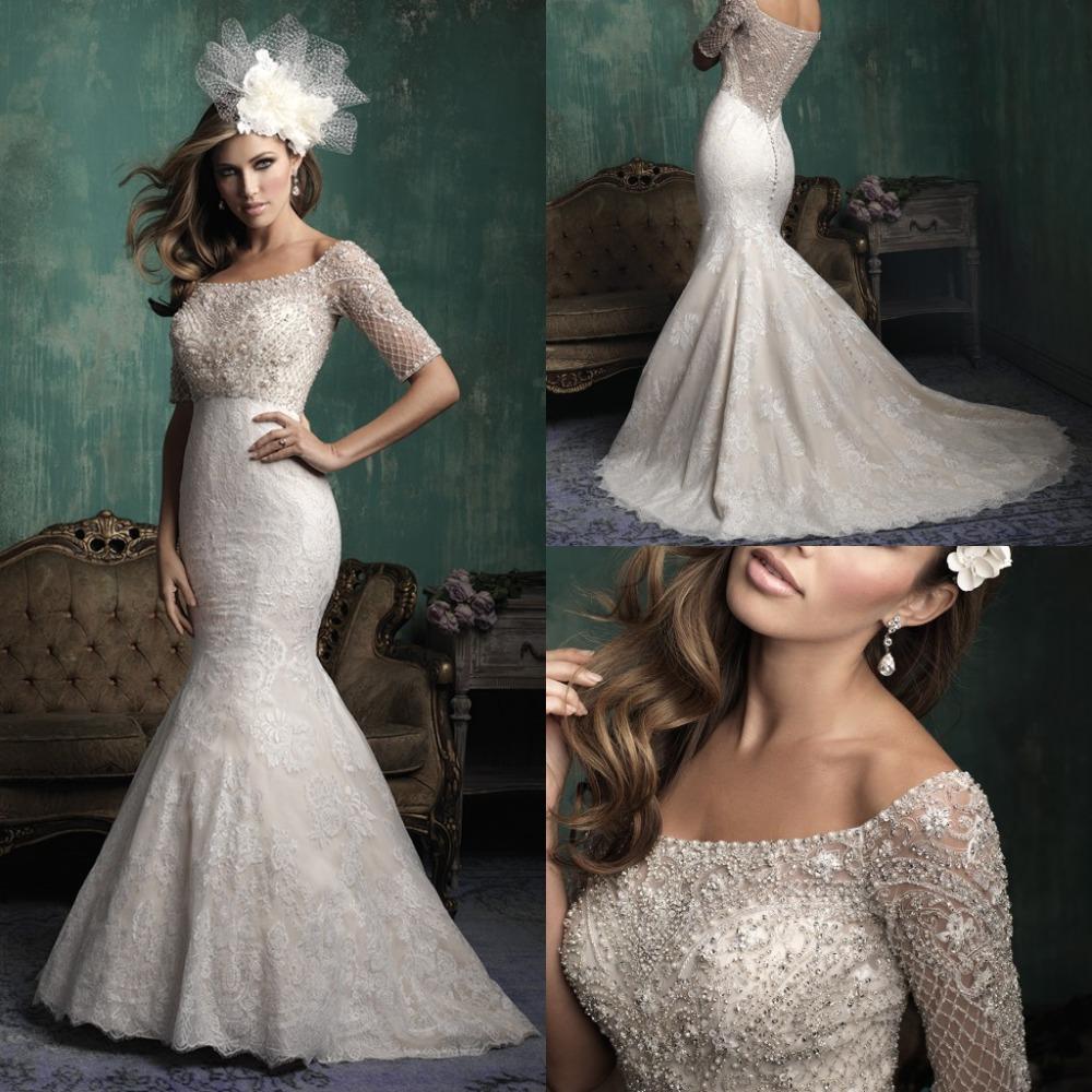 monique lhuillier spring summer bridal collection half sleeve wedding dress monique lhuillier spring summer half sleeves wedding
