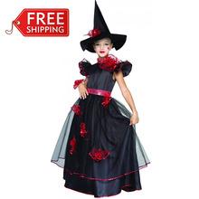Vestidos de halloween de meninas para o dia das bruxas