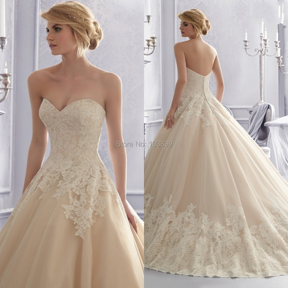 rosette mermaid wedding dress 2 champaign wedding dress Champagne Wedding Dress Simple Dresses