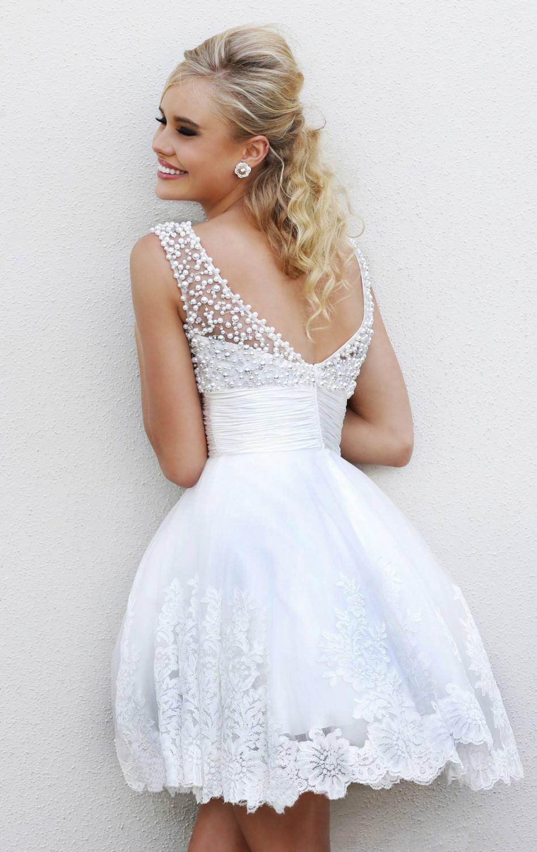 short wedding dress inexpensive short wedding dresses cheap Wedding Dresses Under Splendid Aline Beaded Lace Up