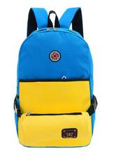 Mochila hora de aventura g amarelo com azul
