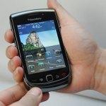 BlackBerry Slider Celular
