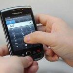 BlackBerry Slider Teclado