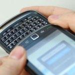 Nuevo BlackBerry Slider
