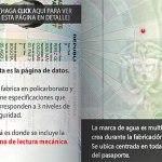 Pasaporte Colombia Franja Seguridad Marca de Agua