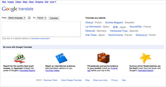 Mejoras Google Translate