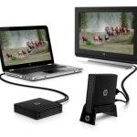 HP computador a TV wireless