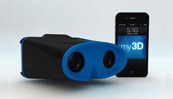 Hasbro binoculares 3D para iPhone e iPods