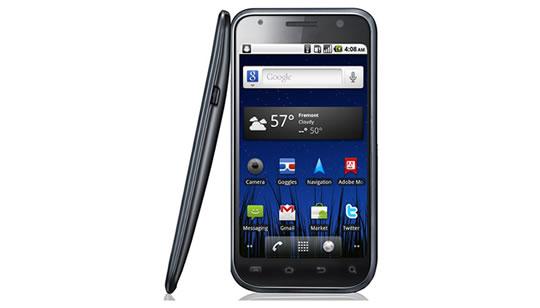 Samsung Nexus Two con Google